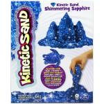 Kinetic Sand: Homokgyurma -csillámló zafír színű, 454 gramm
