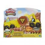Play-Doh Exkavátor és markoló gyurma készlet
