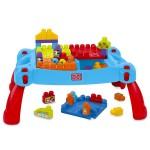 Mega Bloks: klasszikus építő játékasztal kockákkal