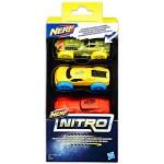 Nerf Nitro - 3 darabos kisautó szett - többféle