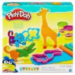 Play Doh make and mix zoo - állatos gyurmakészlet