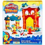 Play Doh Town tűzoltó állomás