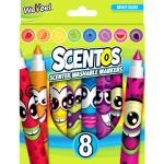Scentos illatos filctoll készlet 8 db élénk szín