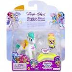 Shimmer és Shine: Rainbow Genie és Zahracorn póni szett – Mattel