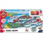 Sam, a tűzoltó: Körmöspálcás játszószőnyeg - Simba Toys