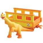 T-Rex expressz Ned vasúti kocsival
