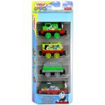 Thomas: 4 darabos kismozdony mix (TA-TP) - Sodor zöld csapata