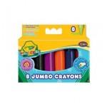 Crayola 8 db-os tömzsi zsírkréta készlet