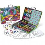 Trollok: Csillámos kreatív bőrönd - Crayola