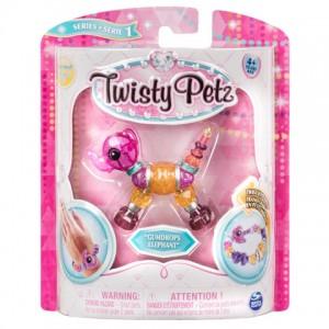 Twisty Petz egy darabos elefánt karkötő készlet - Gumdrops Elephant