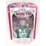 Twisty Petz négy darabos bébiállatos karkötő készlet -kutyus és panda