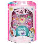 Twisty Petz négy darabos bébiállatos karkötő készlet -panda és cicus
