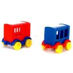 Wader: Kid Cars személyszállító vonatkocsi fiús színekben