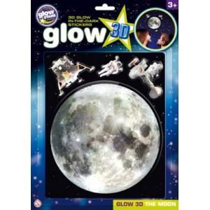 Brainstorm Glow 3D Hold foszforeszkáló matricaszett