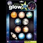Brainstorm Glow 3D Nagy Bolygók foszforeszkáló matricaszett