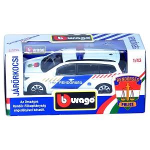 BBurago magyar rendőrautó - 1:43