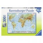 Politikai világtérkép 300 darabos XXL puzzle - Ravensburger