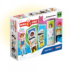 Geomag Magicube mágneses kockaépítő mix 9 db-os szett