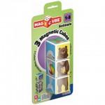 Geomag Magicube Állatok mágneses kockaépítő 3db-os szett