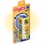Geomag Magicube sportok mágneses kockaépítő 3db-os szett