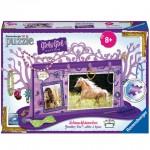 Ravensburger: lovas ékszertartó fa 108 darabos 3D puzzle, lila