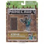 Minecraft: Steve lánc páncélban figuraszett