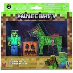 Minecraft: Zombie karakter Zombie lóval figuraszett