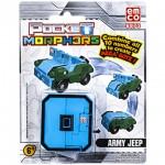 Pocket Morphers 0 Katonai Jeep átalakítható figura