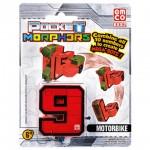 Pocket Morphers 9 Motorkerékpár átalakítható figura
