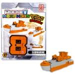 Pocket Morphers 8 Tengeralattjáró átalakítható figura