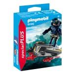 Playmobil 9086 - Az ég lovagja repülő légdeszkán