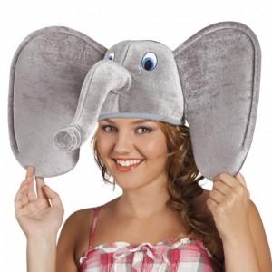 Elefánt fejdísz jelmezhez