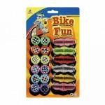 Bicikli küllő dekoráló szett - fényvisszaverő