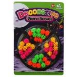 Bicikli küllő dekoráló szett - színes gyöngyök