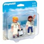 Playmobil 9216 - Utaskísérő és első tiszt - Duo Pack