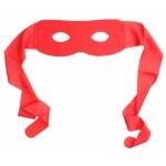 Szuperhős maszk - piros