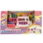 Játék pénztárgép hanggal - kiegészítőkkel