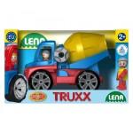 Lena betonkeverő autó figurával - 27 cm