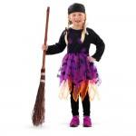 Boszorkány jelmez 4-6 éves méret