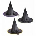 Boszorkány kalap tüllel