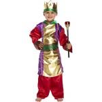 Király jelmez 4-6 éves