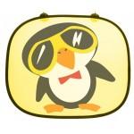 Autós napellenző - Pingvin