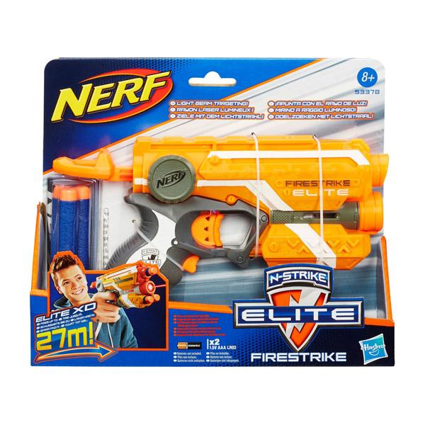 NERF N-Strike Elite: Firestrike szivacslövő pisztoly